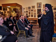 Συνάντηση του Μητροπολίτη Σμύρνης Βαρθολομαίου με τα Σωματεία της ΟΠΣΕ