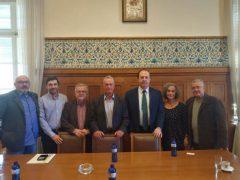 Συνάντηση Αντιπροέδρου ΑΝΕΛ Σγουρίδη με την ΟΠΣΕ