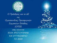 Καλά Χριστούγεννα και Ευτυχισμένο το 2020